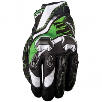 Guantes moto Five Stunt Evo Replica Icon Green