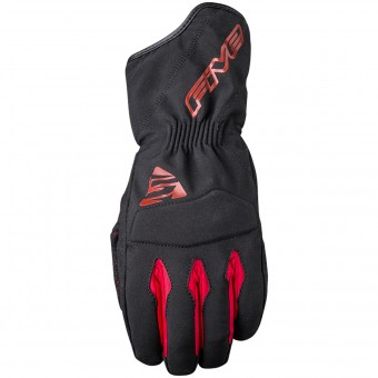 Guantes moto Five WFX3 WP Black Red