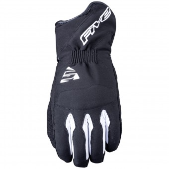 Guantes moto Five WFX3 WP Black White
