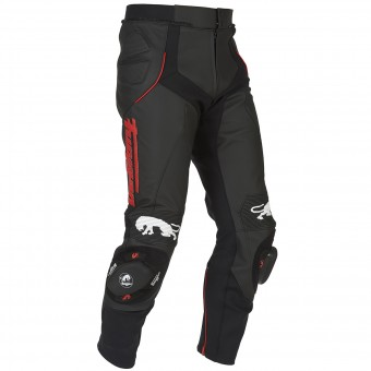 Pantalones moto Furygan Raptor Black Red Pant