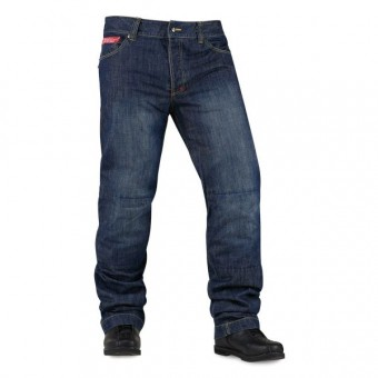 Pantalones moto ICON Strongarm 2 Blue