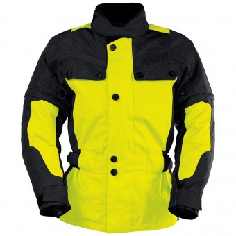 Cazadora moto IXS Explorer Jacket II Black Yellow Kid
