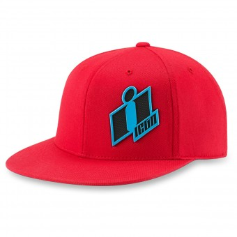 Gorras Moto ICON Double Up Hat Red