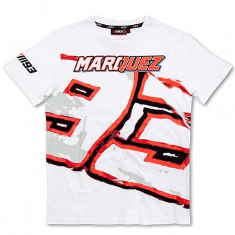 Camisetas Moto Marquez 93 T-Shirt White MM93