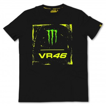 Camisetas Moto VR 46 Monster Black VR46