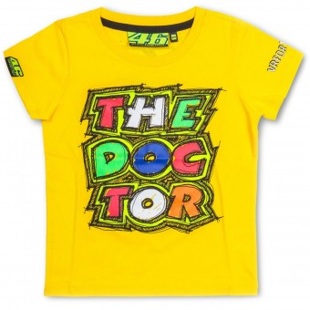 Camisetas Moto VR 46 T-Shirt Kid The Doctor Yellow VR46