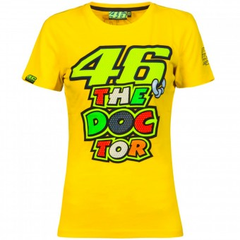 Camisetas Moto VR 46 T-Shirt Woman VR46