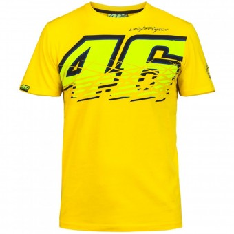 Camisetas Moto VR 46 T-Shirt Yellow VR46