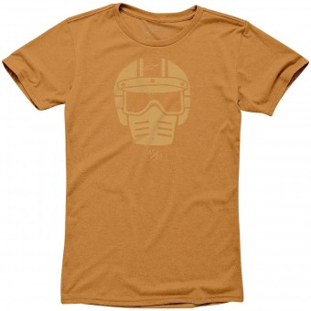 Camisetas Moto Alpinestars Visor Tee Orange Heather