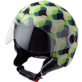 Personalizar casco Helmetdress Funda de casco Retro