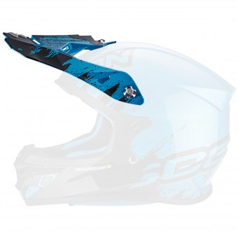 Piezas sueltas casco Scorpion Visera VX-21 Air Mudirt Black Sky Blue