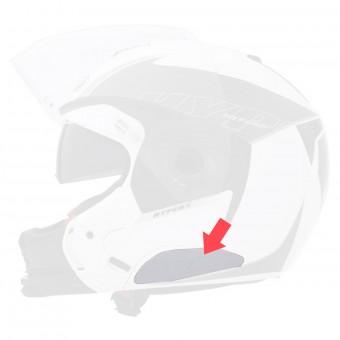 Piezas sueltas casco Caberg Kit Tapa Bluetooth Blanco Modus - Sintesi - Hyper X