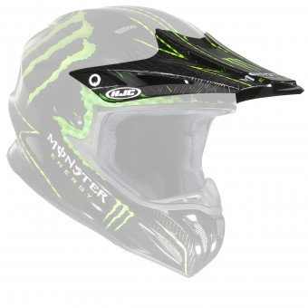Piezas sueltas casco HJC Visera RPHA X Nate Adams Monster MC5