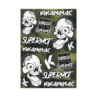 Kit Adhesivos Moto Kikaninac Pegatinas Supermot
