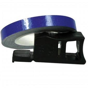 Kit Adhesivos Moto Chaft Tiras adhesivas llantas Azul Reflectante