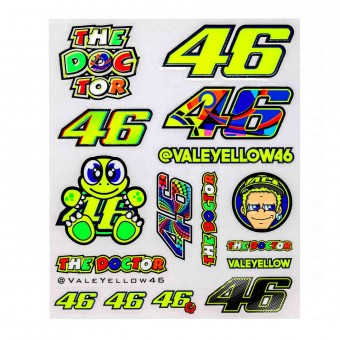 Kit Adhesivos Moto VR 46 Stickers Big VR46 Milticolore