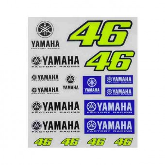 Kit Adhesivos Moto VR 46 Stickers Racing Yamaha VR46
