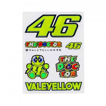 Kit Adhesivos Moto VR 46 Stickers Small VR46