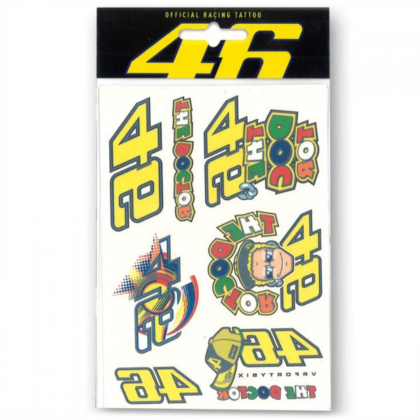 Kit Adhesivos Moto VR 46 Tattoo Set VR46