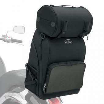 Bolsas respaldo Saddlemen S2600 Deluxe Sissy Bar Bag