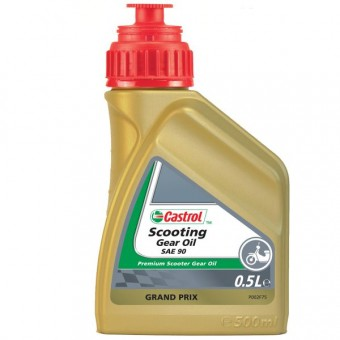 Aceite de transmisión Castrol Scooting Gear Oil 500 ml