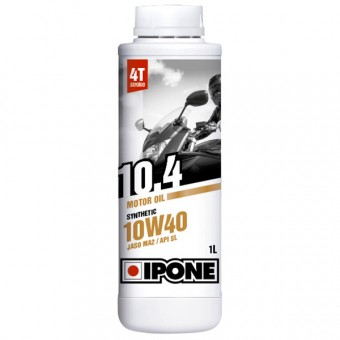 Aceite para motor IPONE 10.4 - 10W40 Synthetic - 1 Litro 4T