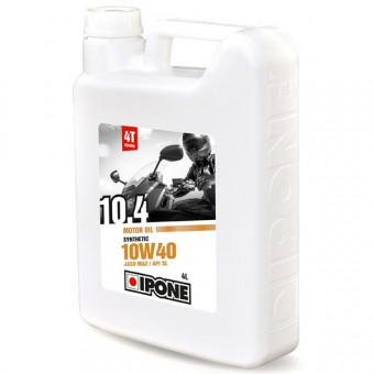 Aceite para motor IPONE 10.4 - 10W40 Synthetic - 4 Litros 4T