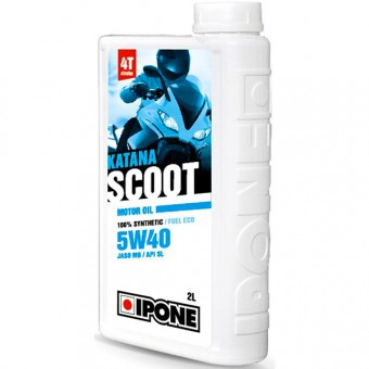 Aceite para motor IPONE Katana Scoot - 5W40 100 % Synthetic - 2 Litros 4T