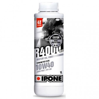 Aceite para motor IPONE R4000 RS - 10W40 Synthetic Plus - 1 Litro 4T