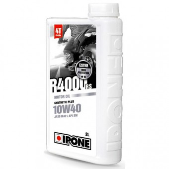 Aceite para motor IPONE R4000 RS - 10W40 Synthetic Plus - 2 Litros 4T