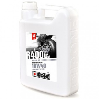 Aceite para motor IPONE R4000 RS - 10W40 Synthetic Plus - 4 Litros 4T