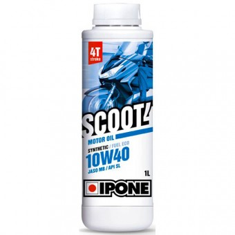 Aceite para motor IPONE Scoot 4 - 10W40 Synthetic - 1 Litro 4T