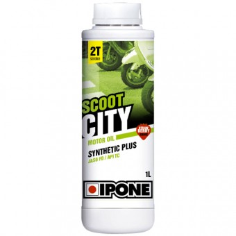 Aceite para motor IPONE Scoot City Fraise - Synthetic Plus - 1 Litro 2T