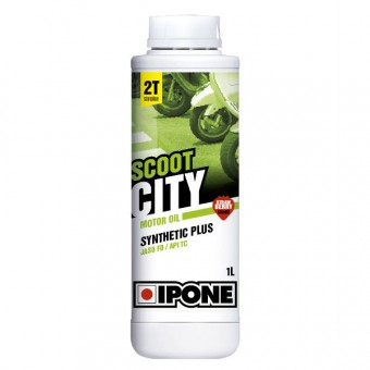 Aceite para motor IPONE Scoot City - Synthetic Plus - 1 Litro 2T