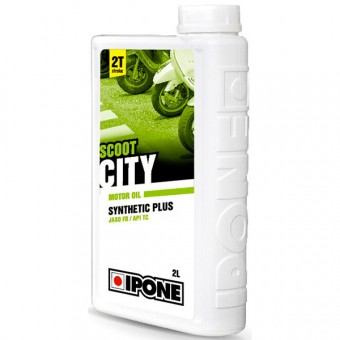 Aceite para motor IPONE Scoot City - Synthetic Plus - 2 Litros 2T