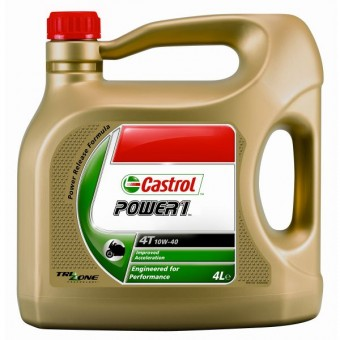 Aceite para motor Castrol Power 1 Racing 4T 10W-40 4 litres