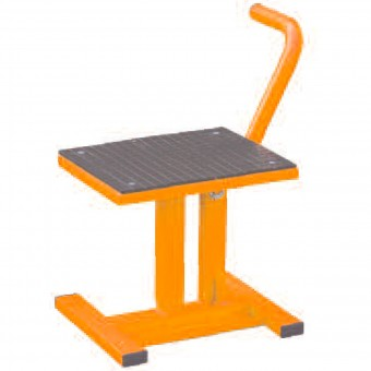 Caballete moto MAD Paddock Stand Cross Orange