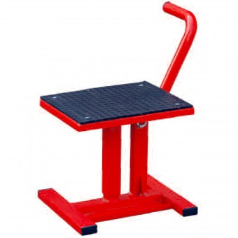 Caballete moto MAD Paddock Stand Cross Red