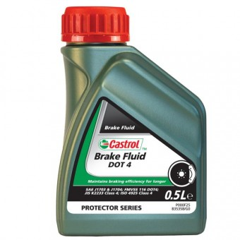 Líquido de Frenos Castrol Brake Fluid DOT 4 500 ml