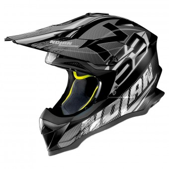 Casque Cross Nolan N53 Whoop Flat Black 46