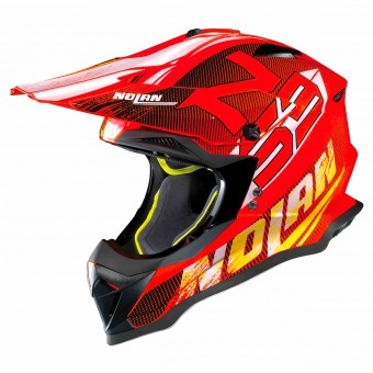Casque Cross Nolan N53 Whoop Led Orange 50