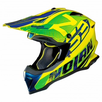 Casque Cross Nolan N53 Whoop Led Yellow 49