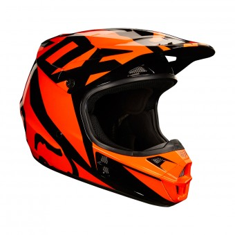 Casque Cross FOX V1 Race Orange Black