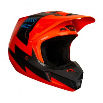 Casque Cross FOX V2 Master Orange