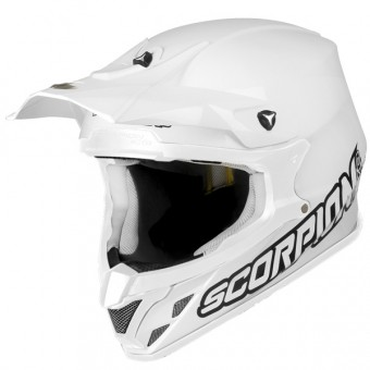 Casque Cross Scorpion VX-20 Air Blanco