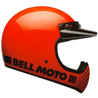 Casque Cross Bell Moto-3 Classic Flo Orange