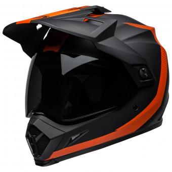 Casque Cross Bell MX-9 Adventure Mips Switchback Matte Black Orange