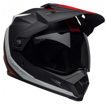 Casque Cross Bell MX-9 Adventure Mips Switchback Matte Black Red White