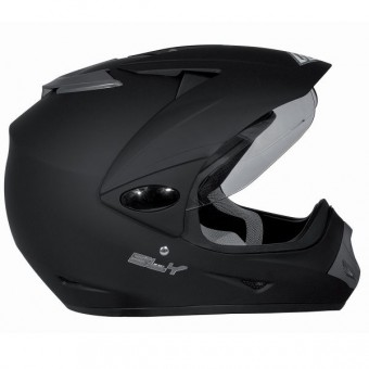 Casque Cross SHOT Sly Negro Mate