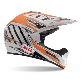Casque Cross Bell SX-1 Swich Naranja